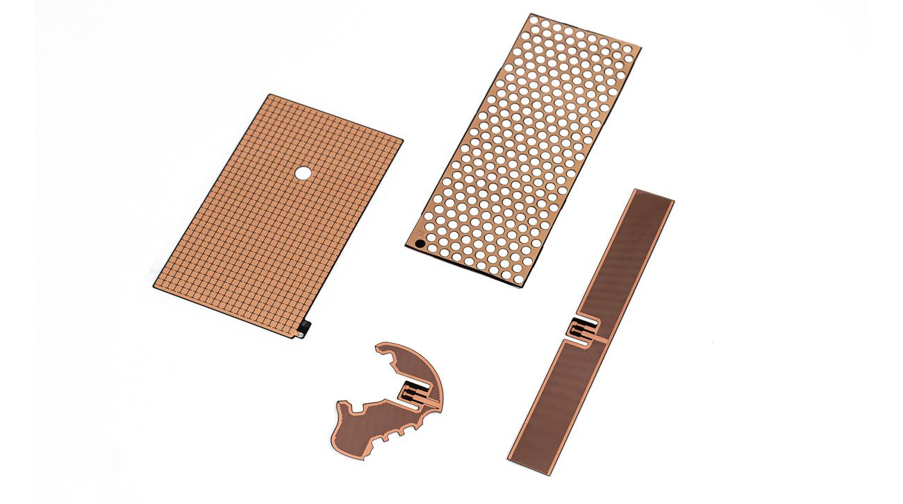 Customized energy efficient PTC heaters with intrinsic self regulating properties