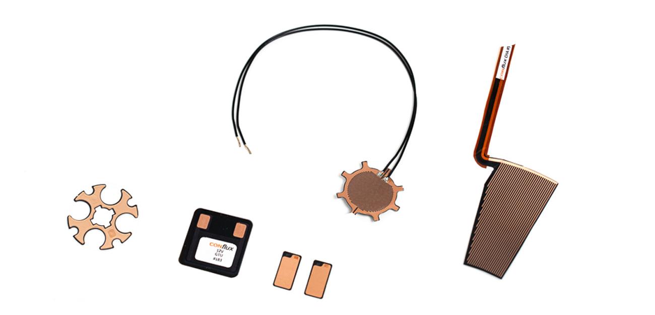 Energy efficient, self regulating PTC heaters for sensors